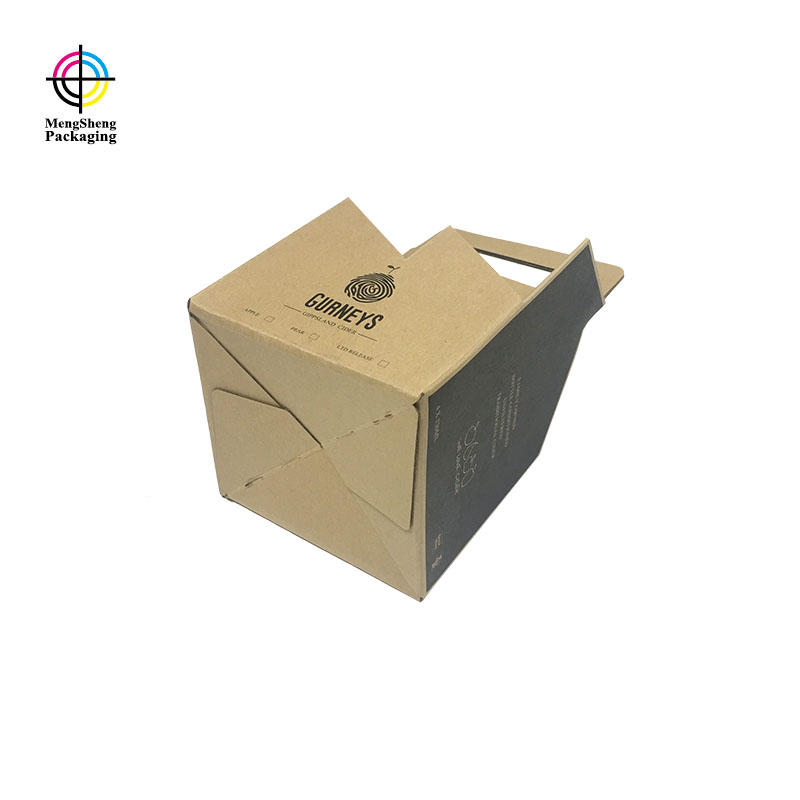 Mengsheng round tube custom mailer boxes shoes packing convenient