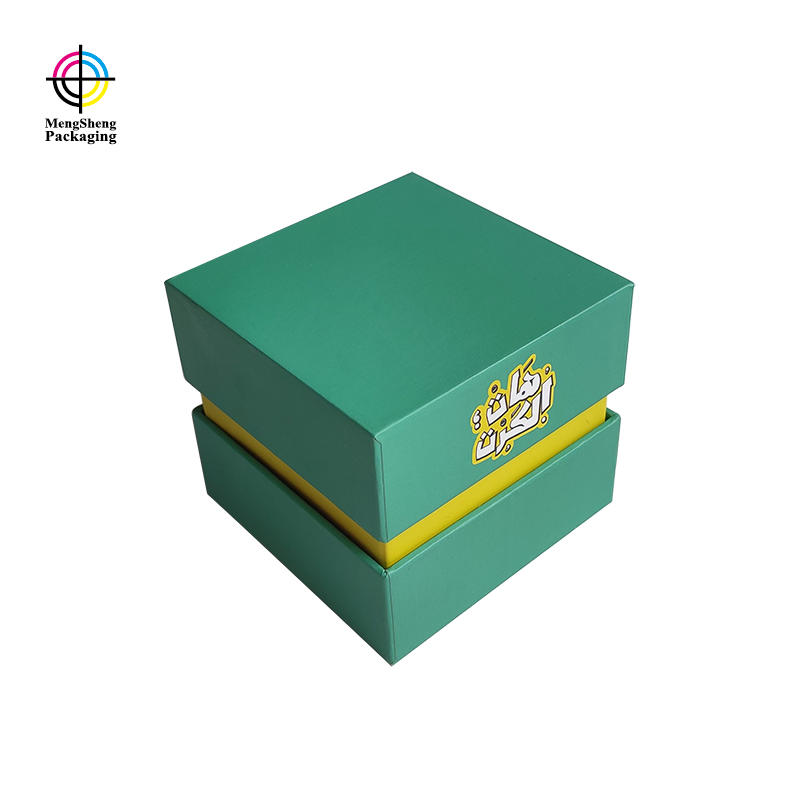 Luxury OEM Small Cardboard Lid And Base Gift Card Custom Product Boxes