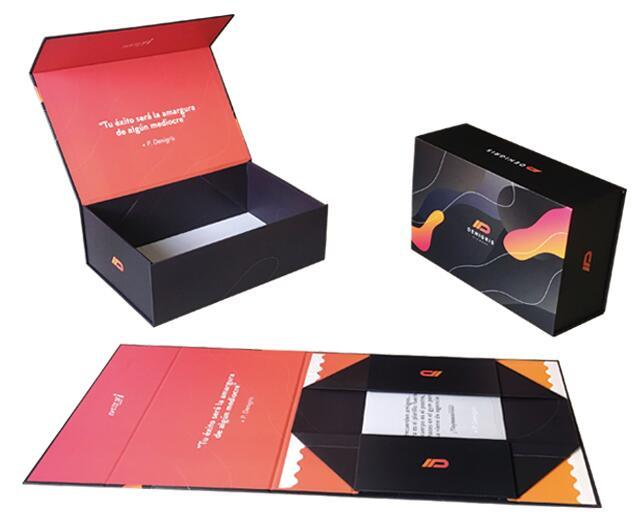 hot-sale fold up boxes folding garment packing
