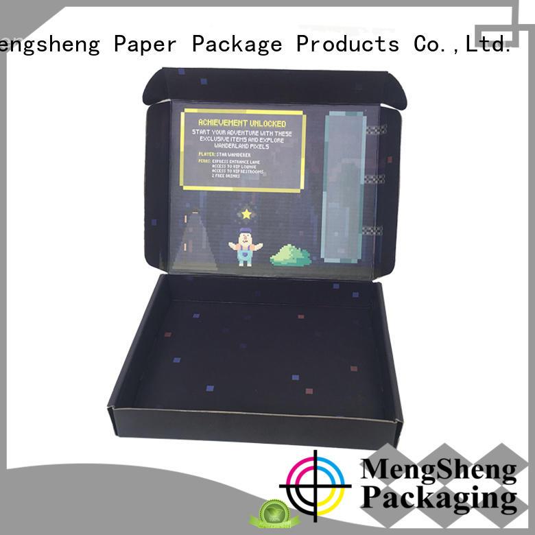 custom boxes shopping with ribbon Mengsheng