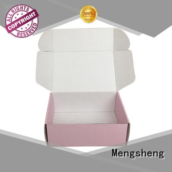 Mengsheng pvc window cloth box ectronics packing