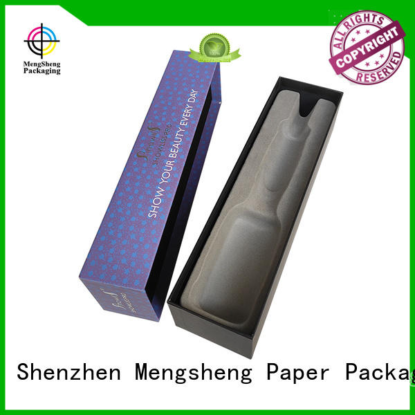 Mengsheng stamping 2 piece gift boxes luxury for wholesale