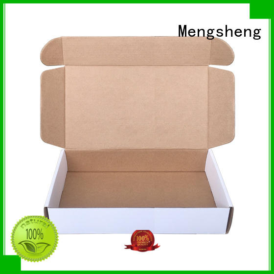 Mengsheng cosmetic packaging packing boxes pink colour with ribbon