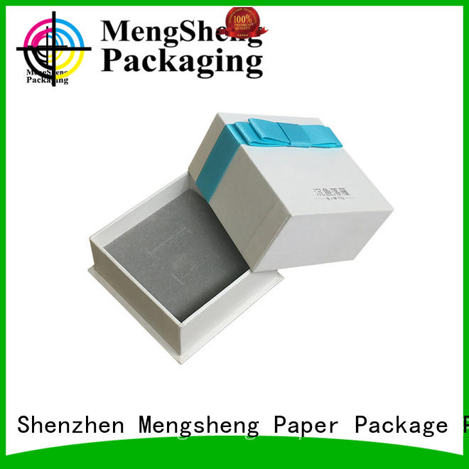 Mengsheng headphones packaging small cardboard boxes with lids stamping for wholesale