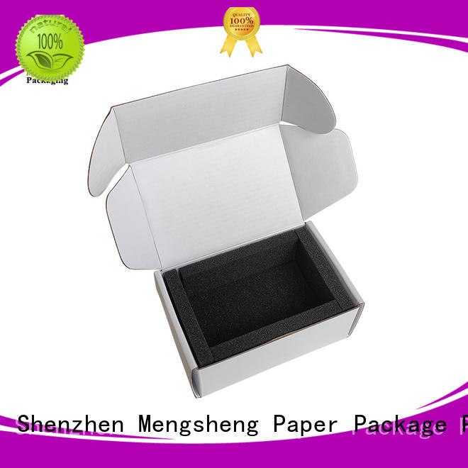 Mengsheng durable buy cardboard boxes easy closure for florist