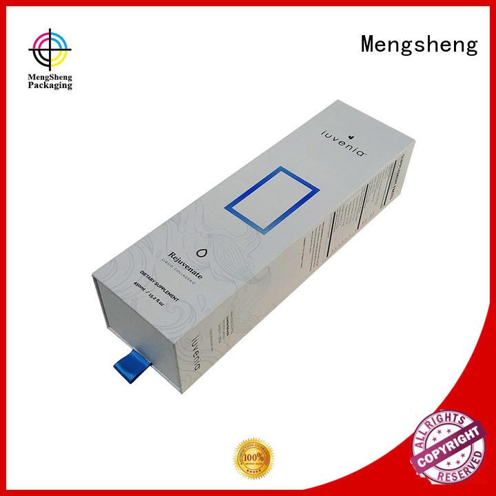 Mengsheng wholesale custom slide boxes sliding insert free sample