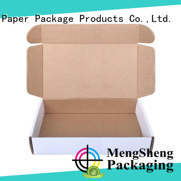 Mengsheng corrugated corrugated packaging printed cardboard convenient