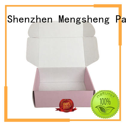 Mengsheng cosmetic packaging cloth box with handle