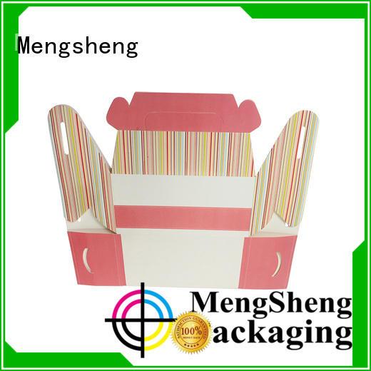 Mengsheng imprinted cupcake packaging sturdy top brand
