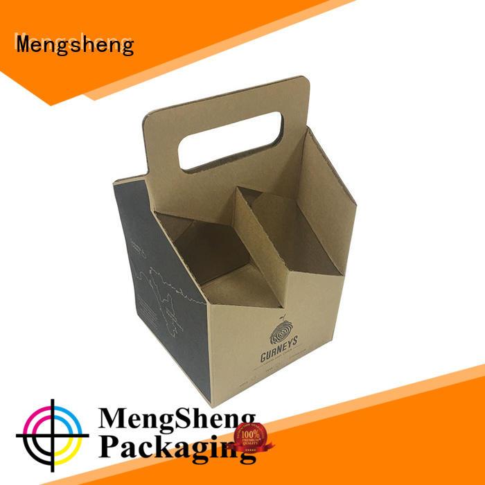 Create custom wine paper box packaging for wine bottle