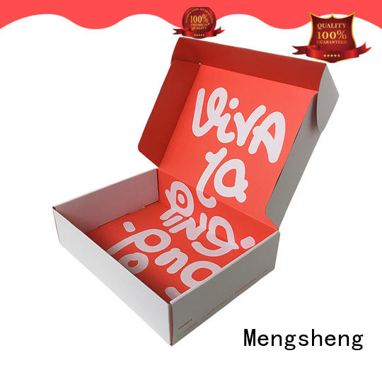 custom boxes pink colour with ribbon Mengsheng
