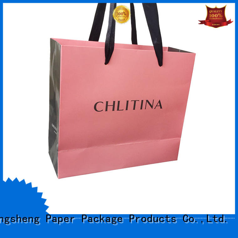 Mengsheng shopping large cube gift box Supply with ribbon