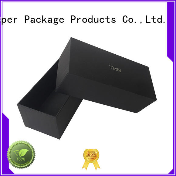 headphones packaging 2 piece gift boxes stamping rectangular jewelry packing