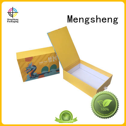 Mengsheng imprinted round gift box round tube for wholesale