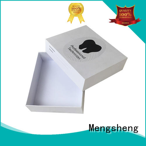 Mengsheng headphones packaging cardboard boxes with lids ribbon design chocolate packing