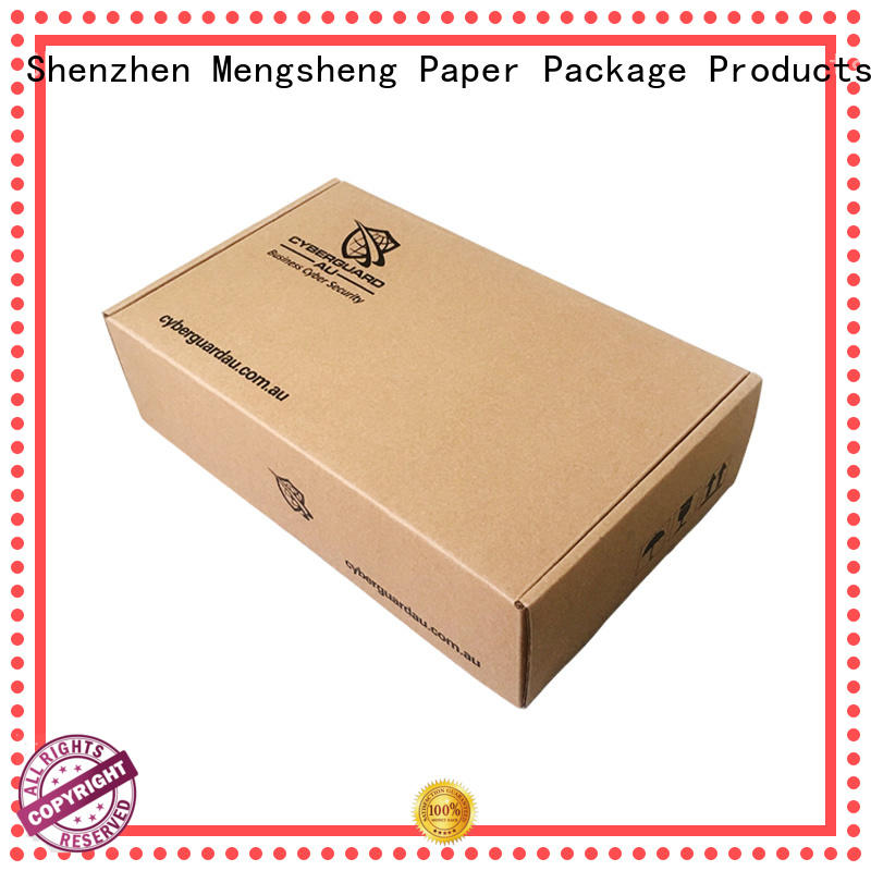 shopping packing boxes free sample Mengsheng