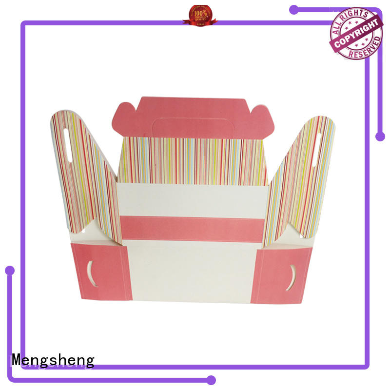 Mengsheng customized hard paper gift box Suppliers