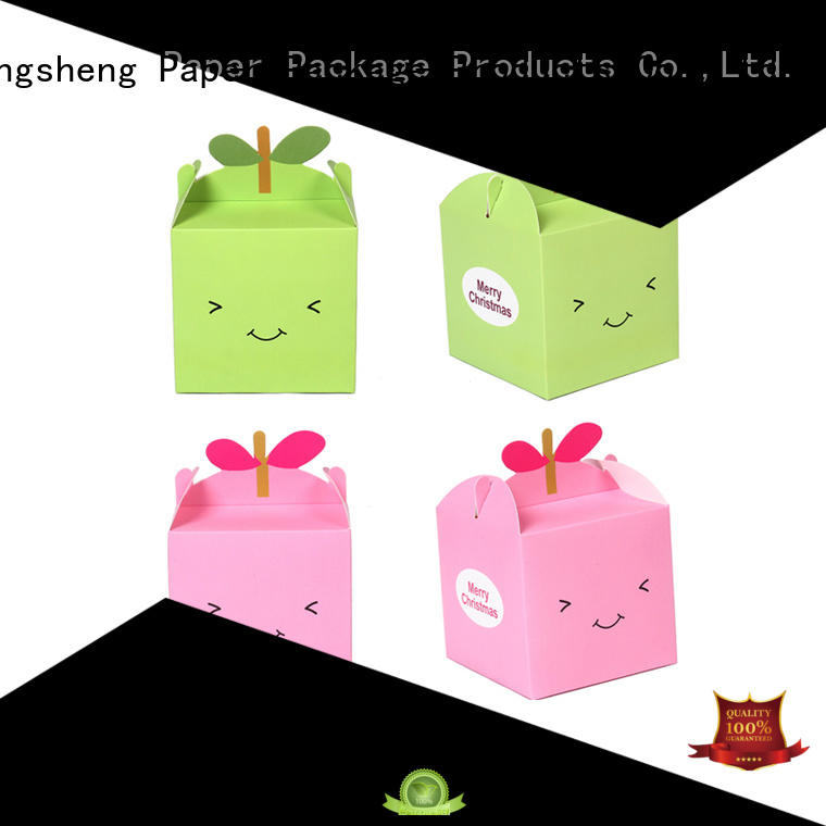 Mengsheng convenient large white gift box printing clothing shipping