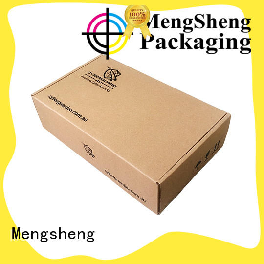 Mengsheng printing design 15 inch gift box oliver oil displaying ectronics packing