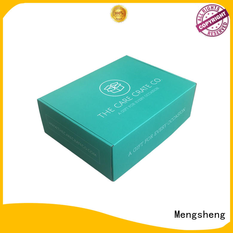 Mengsheng high quality corrugated box plant shoes packing eco friendly