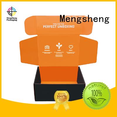 Mengsheng shipping corrugated box sizes eco friendly