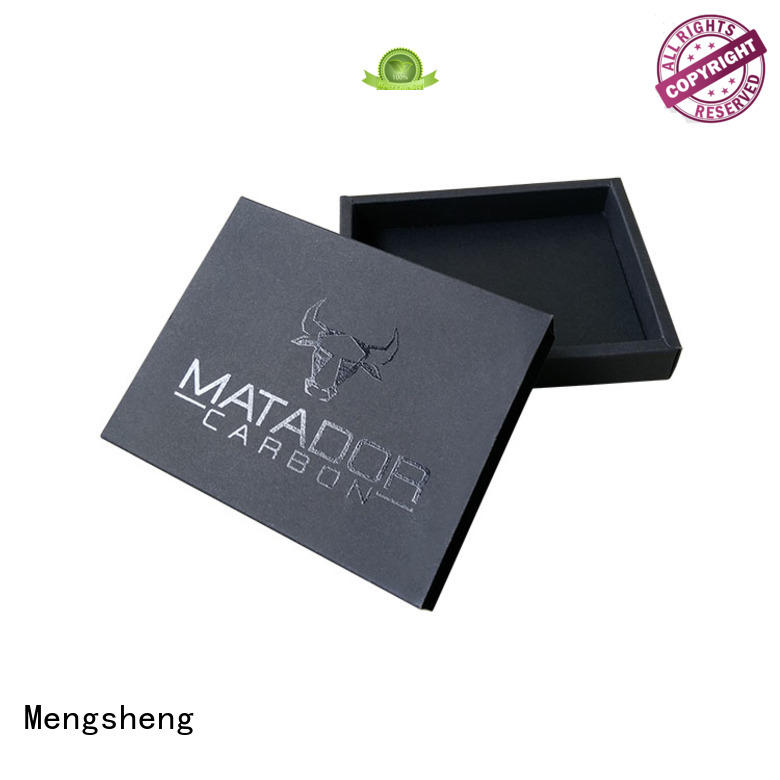 Mengsheng packaging perfume sample box wholesale for sale