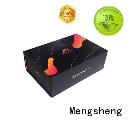 Mengsheng durable foldable gift boxes waterproof garment packing