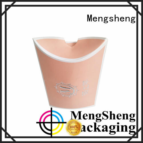 Cosmetic packaging box pink colour pillow box for soap logo silver