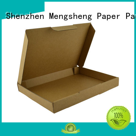 Mengsheng natural kraft paper corrugated suppliers clothing packing eco friendly
