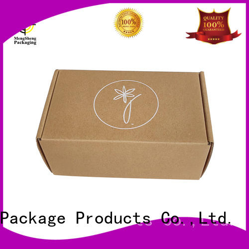 strong tuck top boxes shoes packing eco friendly Mengsheng