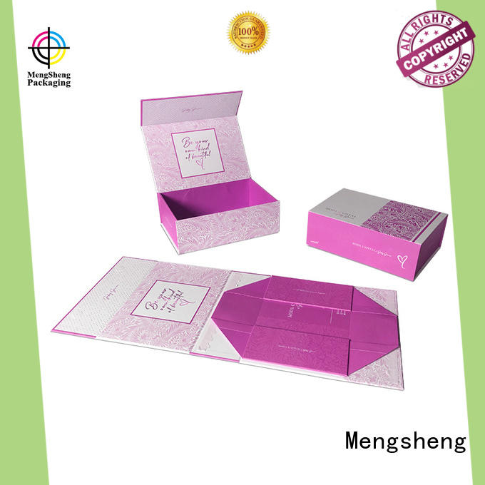 round tube square gift box kraft for wholesale Mengsheng