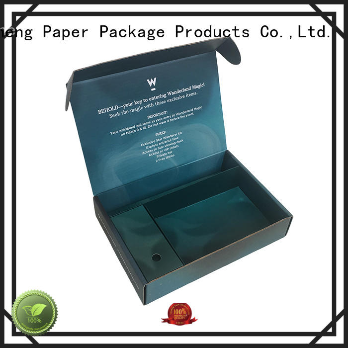 Mengsheng shopping large birthday gift box Supply with handle