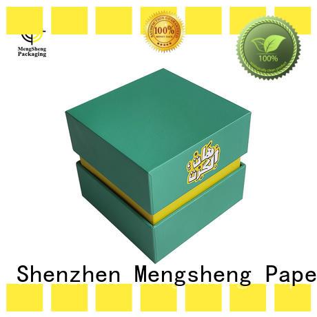 Mengsheng clothing shipping scarf gift box reversible
