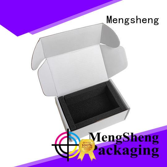 hot-sale small card boxes arts logo printed garment packing
