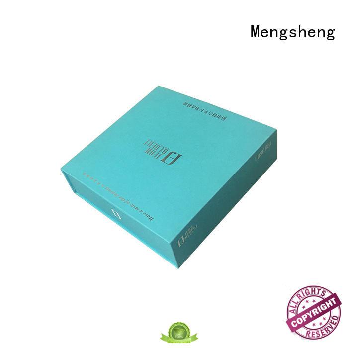 Mengsheng folding cosmetic box wholesale bulk producion