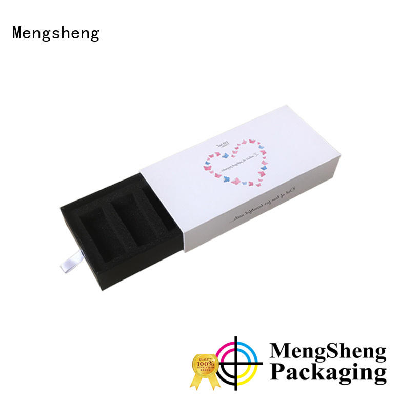 Mengsheng factory price slider box gift packaging free sample