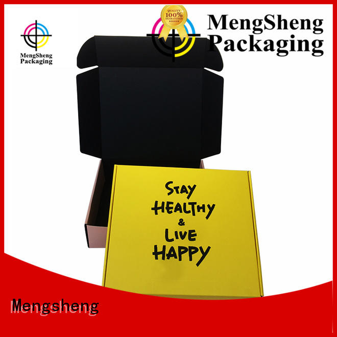 Mengsheng shipping small shipping boxes eco friendly