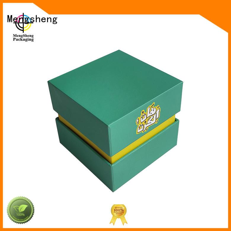 Mengsheng magnetic closure gift card box rectangular at discount