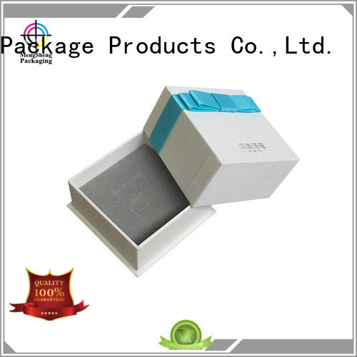 Mengsheng ecofriendly cardboard boxes with lids special jewelry packing