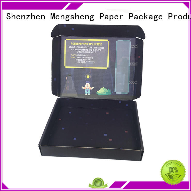 Mengsheng Wholesale decorative packing boxes manufacturers with ribbon