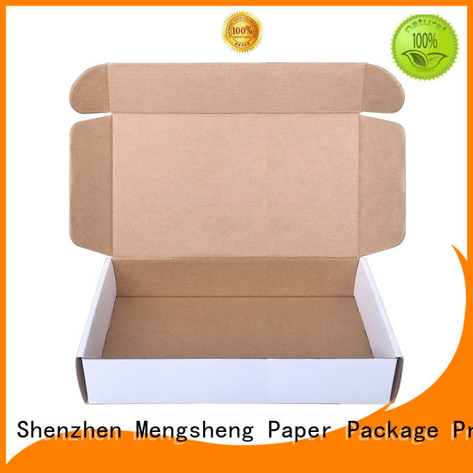 Mengsheng wine bottles corrugated packaging printed cardboard eco friendly