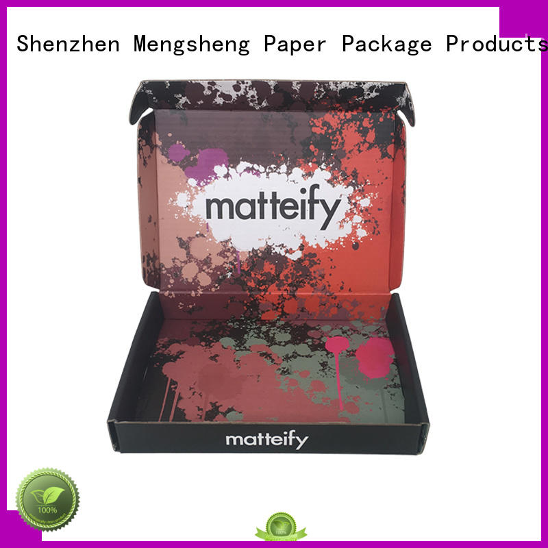 Mengsheng folding cosmetic box cheapest price for sale