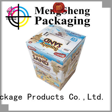 at discount cardboard packaging hot-sale with handles