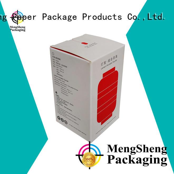 Mengsheng round tube buy corrugated boxes shoes packing eco friendly