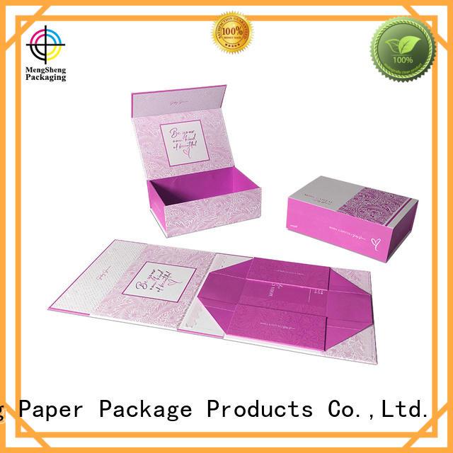 Mengsheng hot-sale magnetic safe box carton printed for fruit packaging