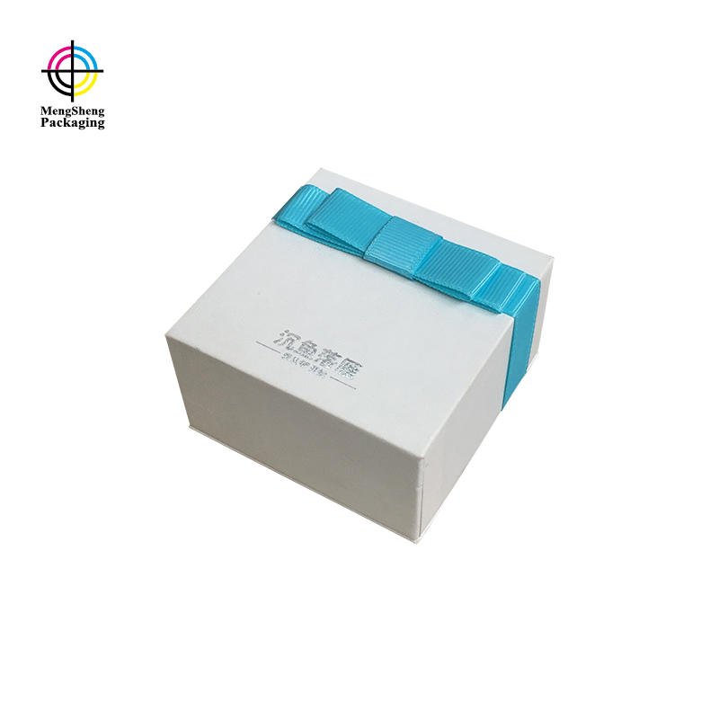 Mengsheng sturdy 2 piece gift boxes rectangular jewelry packing-3