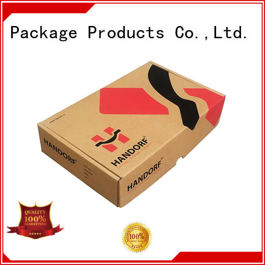 Custom kraft corrugated cardboard mailer box with printing design