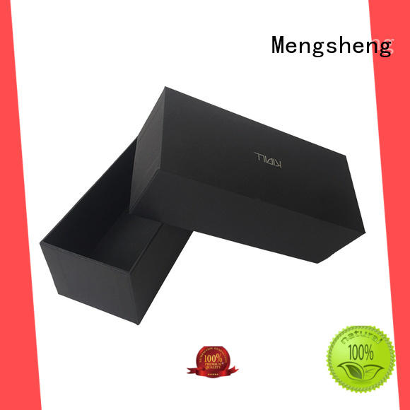 Mengsheng electronics packaging 2 piece gift boxes special jewelry packing