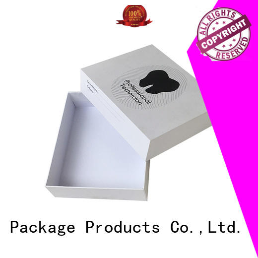 electronics packaging two piece box ecofriendly ribbon design for wholesale