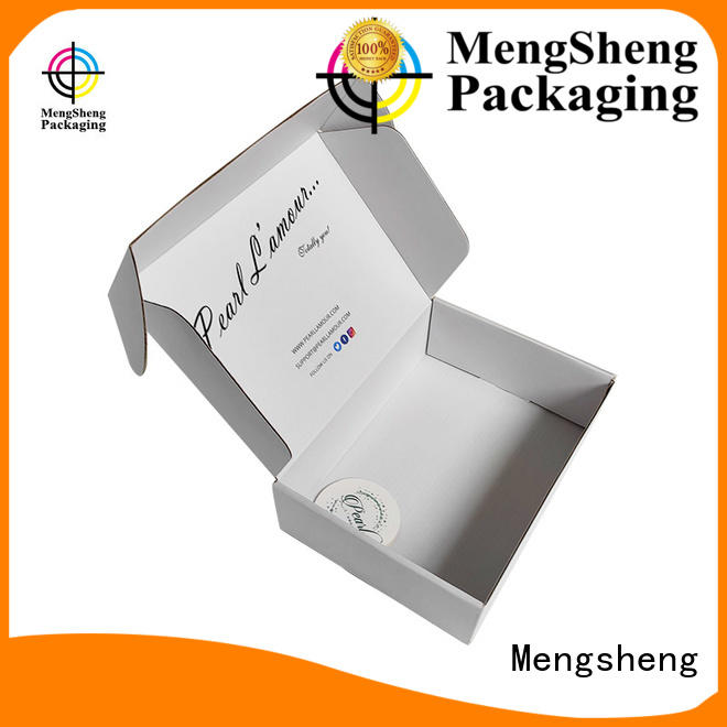 natural kraft paper corrugated suppliers corrugated clothing packing eco friendly